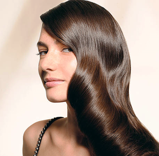 Beautiful Hairstyle In Oily Hair : Use apple cider vinegar rinses for super shiny soft hair