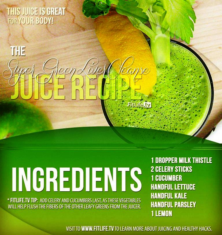 Super green liver cleanse juice recipe healthy posts 349904910970442788401019959122n forumfinder Image collections