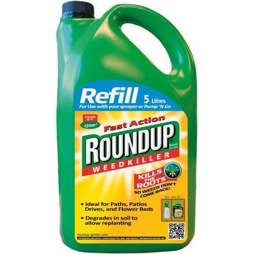 RoundUpFastActionPumpGoWeedkillerRefilPack-super